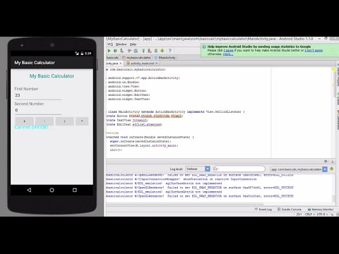 android studio simple app example