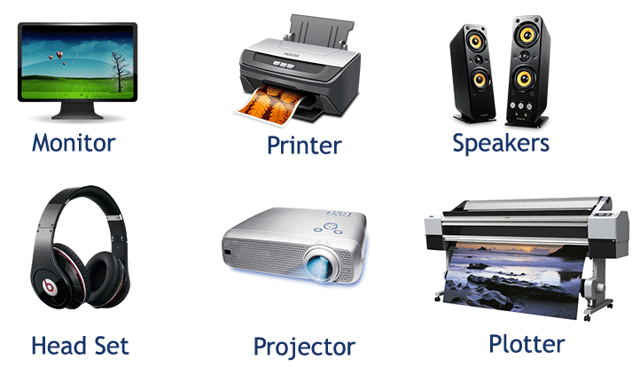 what is an example of an output device