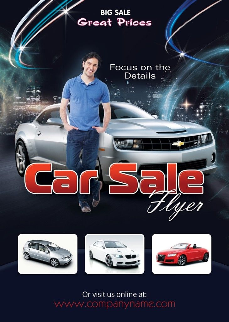 example advertisement to sell a car