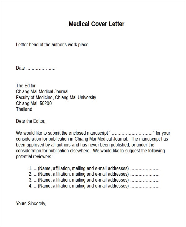 example of t format cover letter