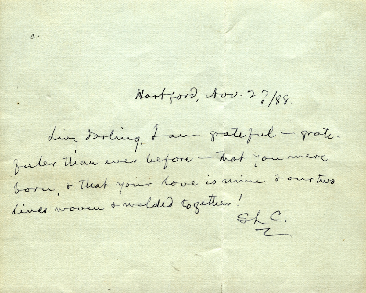 example of old love letters