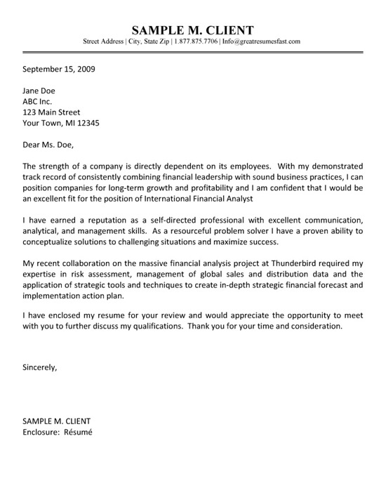 example of sales letter in business communication