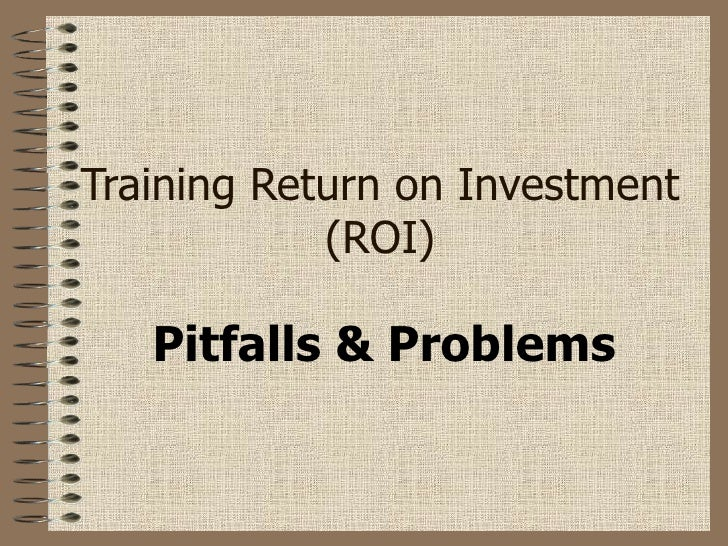 return on investment example ppt