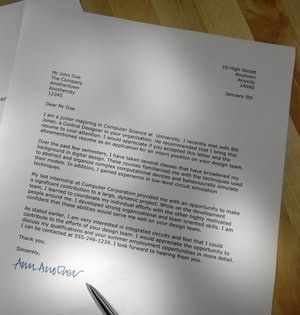 example a letter for redeem