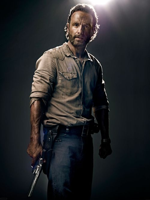 the walking dead example of finding guns