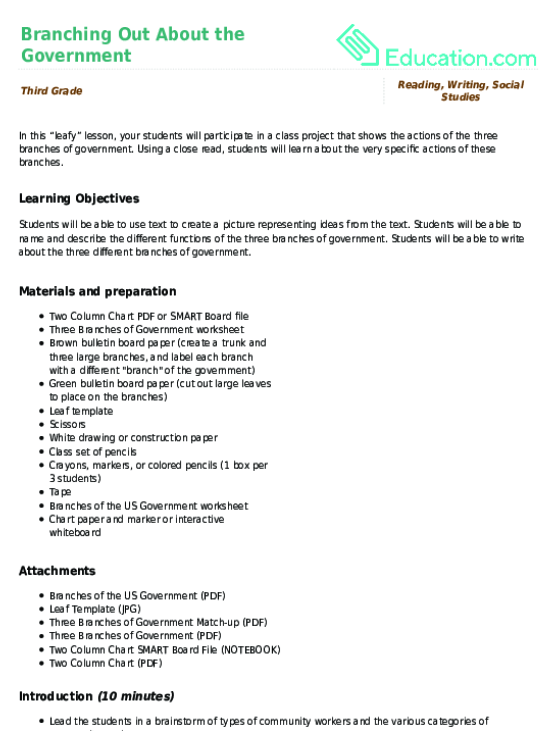 nipissing lesson plan complete example