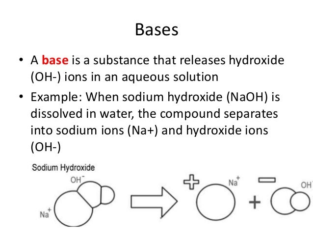example of a metal hydroxide