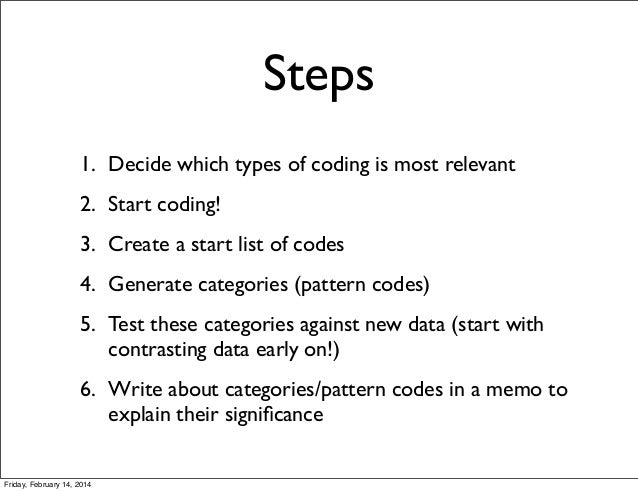 coding data in qualitative research example
