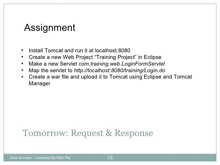 eclipse sip servlet example with tomcat