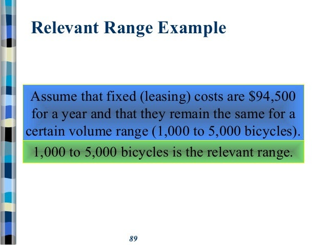 relevant cost definition and example
