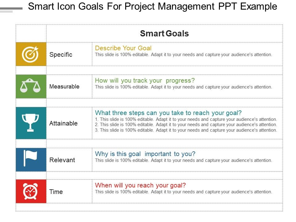 example of project objective statement in project management