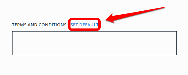 tax invoice terms and conditions example