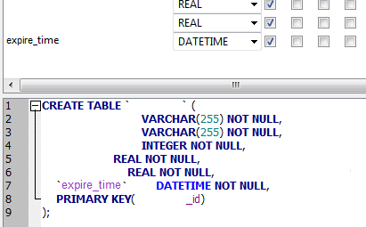 sqlite insert or replace example