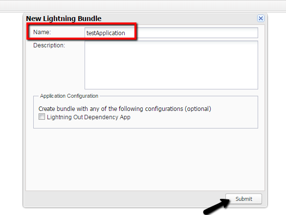application event example in lightning