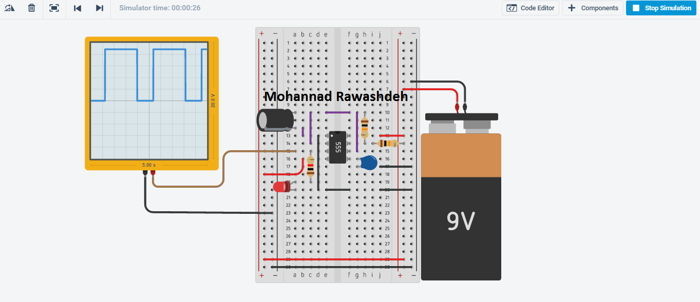 msp430 timer continuous mode example