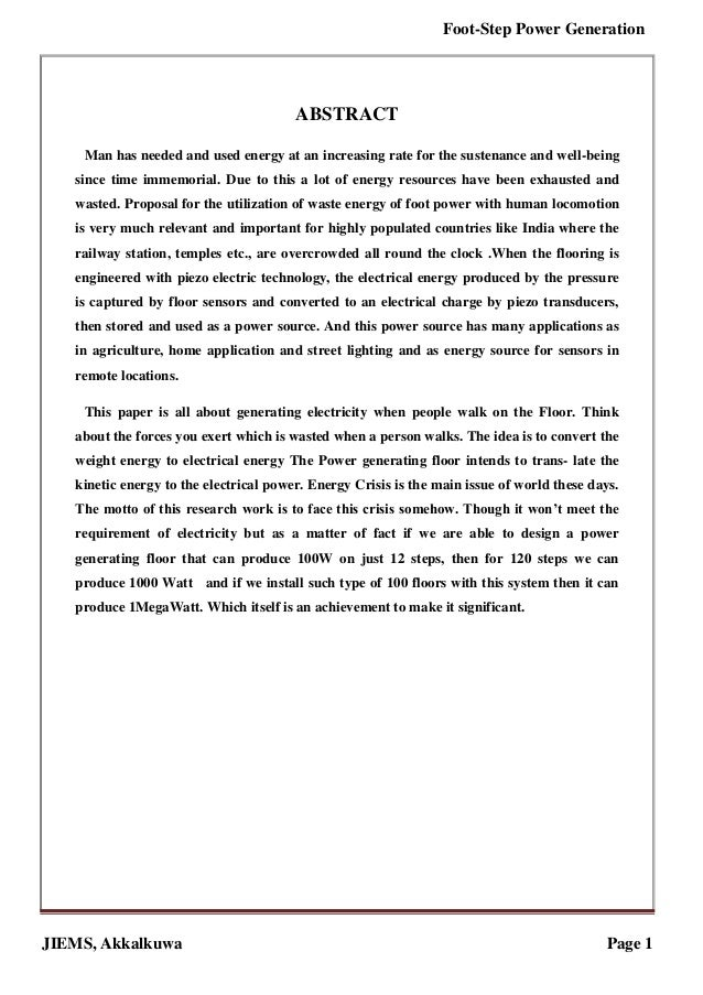 electrical engineering literature review example