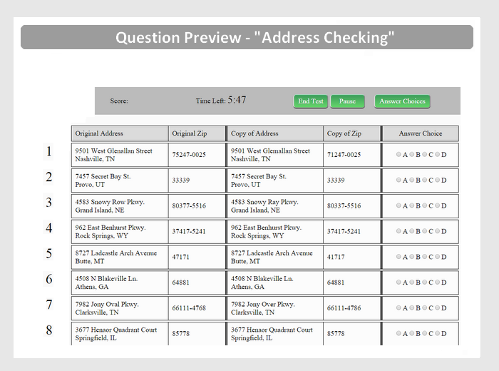 eqao example of assessment and scoring material