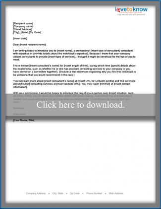 example of business introduction email