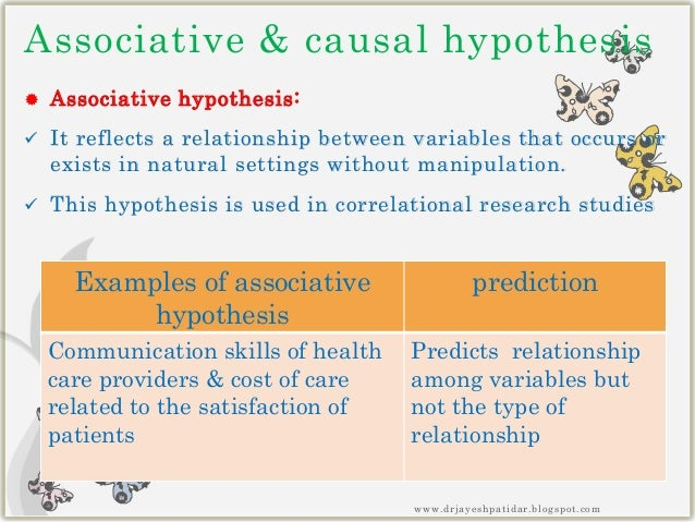 example of a one-tailed research hypothesis