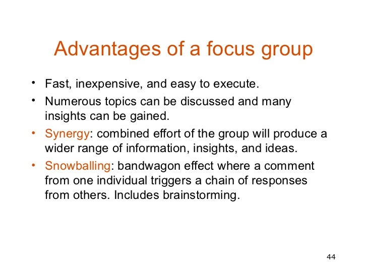 focus group moderator guide example