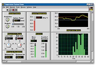 labview real time data acquisition example