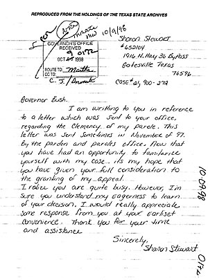 letter of support example for parole
