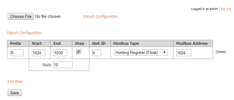 micro8 ignition modbus mapping example