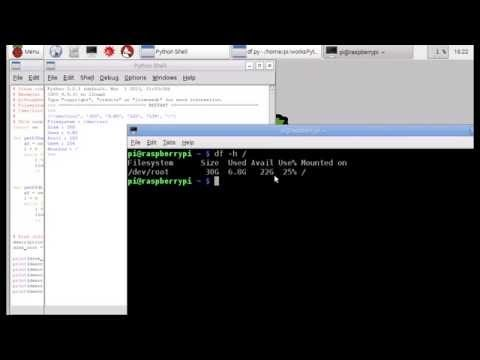 os.system python example linux