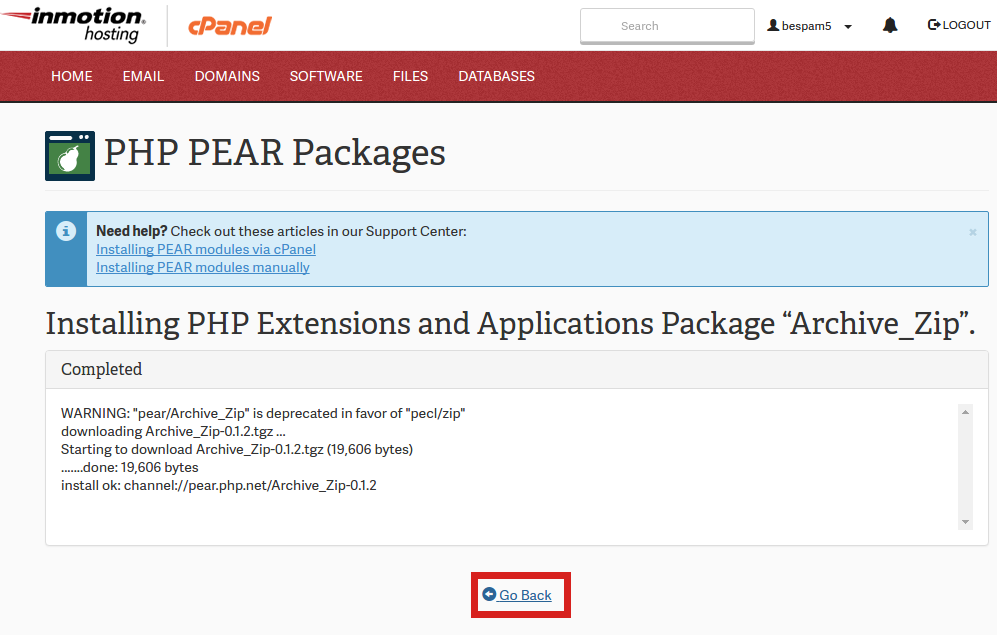 pear in php with example