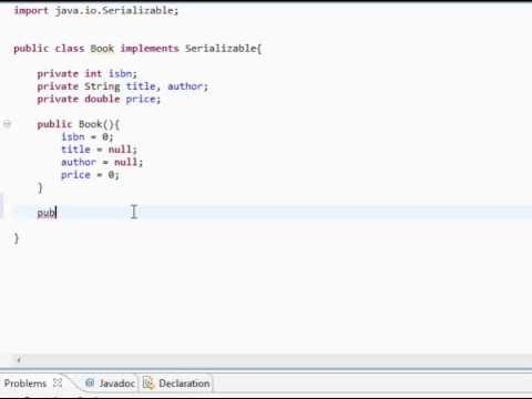simple example of interface in java
