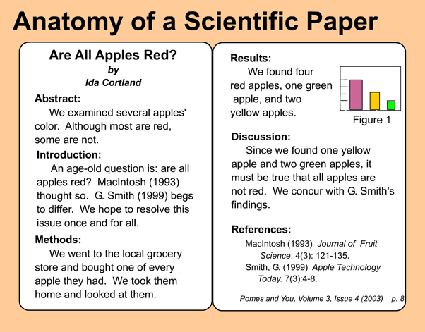 summarizing a journal article example