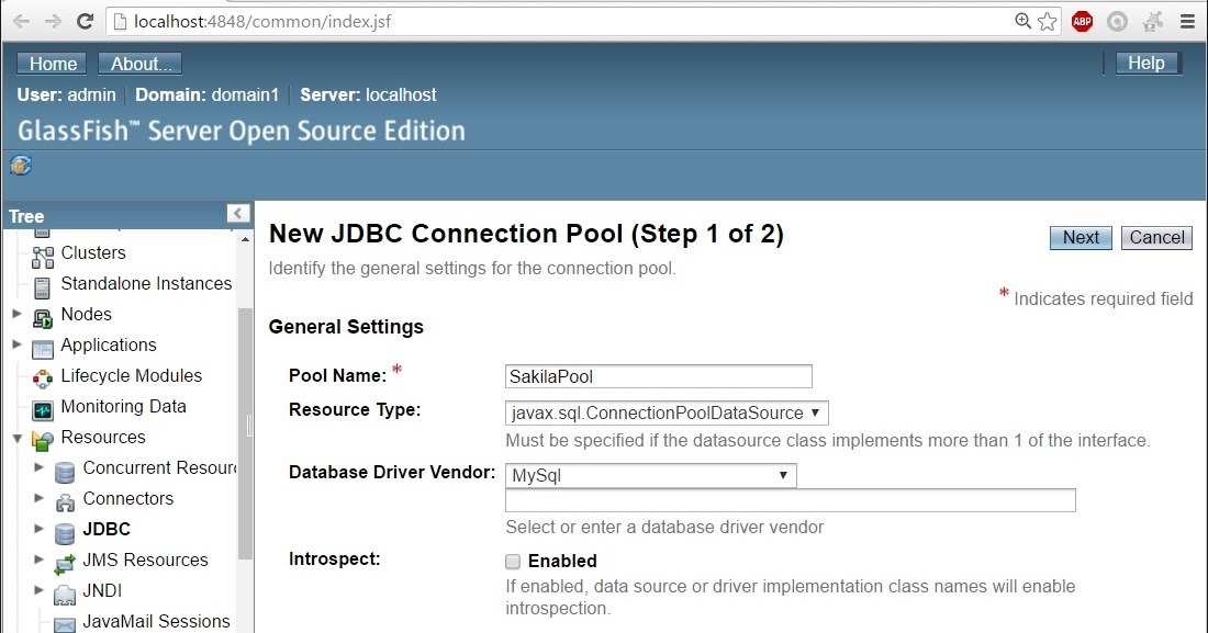 understand jdbc connection pool example