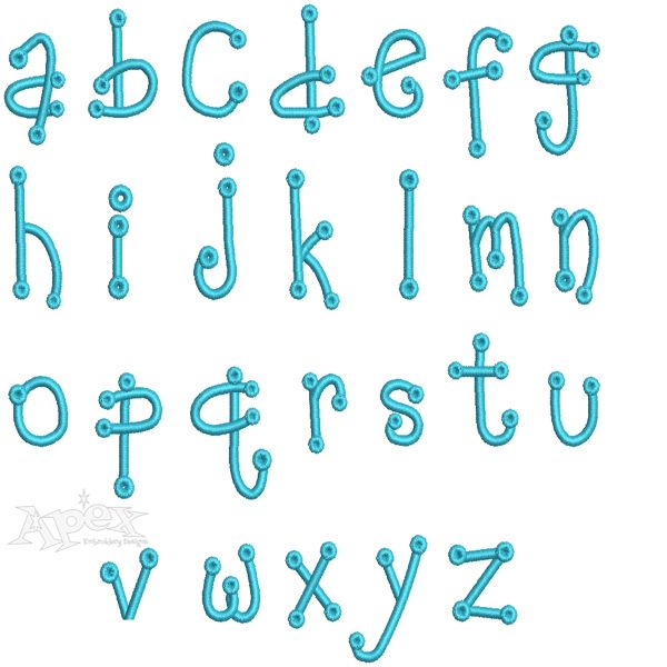 upper and lower case number example