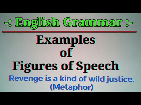 what are the figure of speech and its example